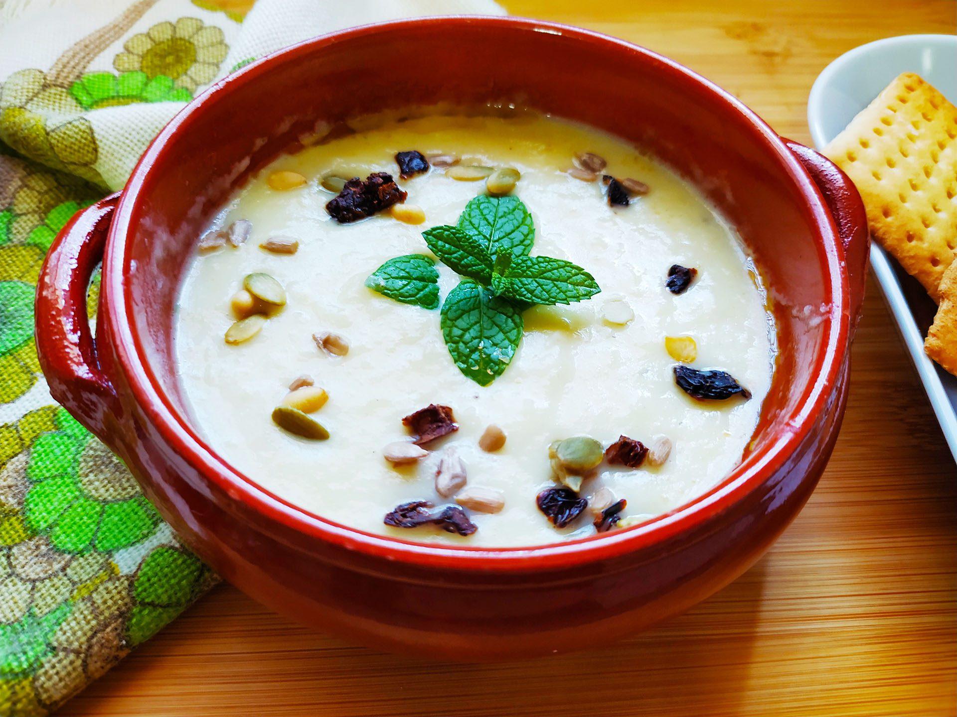 Vichyssoise o smoothie de puerro y patata