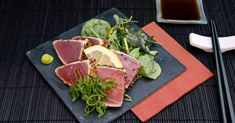 Aprende cómo hacer tataki de atún